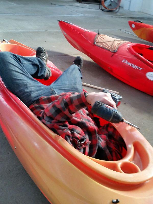 Kayak repair