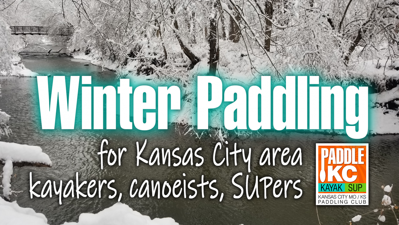 Winter Paddling near Kansas City