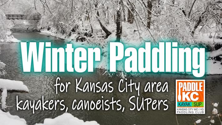 Winter Paddling near Kansas City