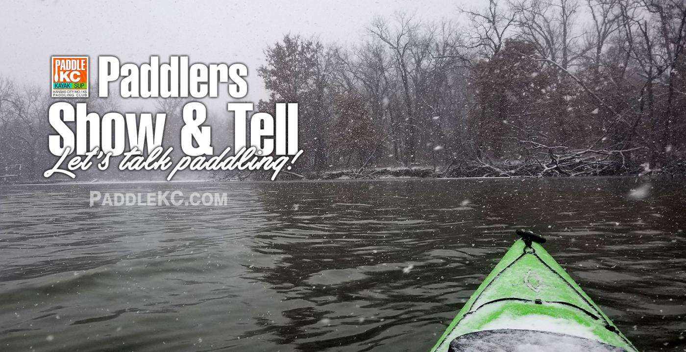 Winter Kayak Camping Show & Tell