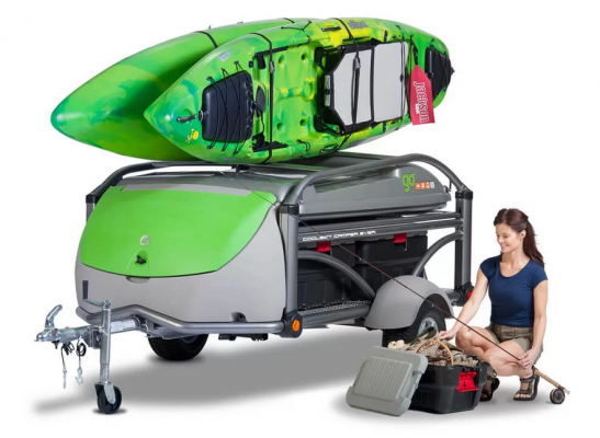 GO Kayak Trailer and Camper