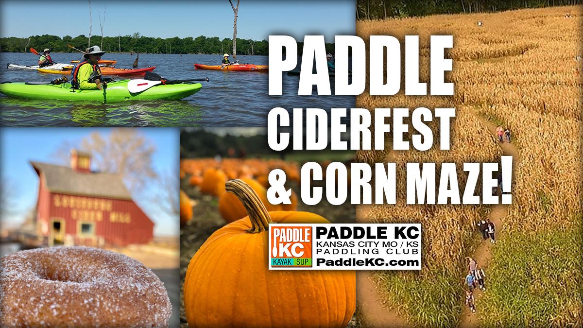 Kansas City Paddle, Ciderfest, Corn Maze
