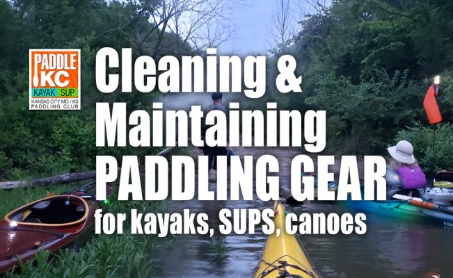 Cleaning Paddling Gear