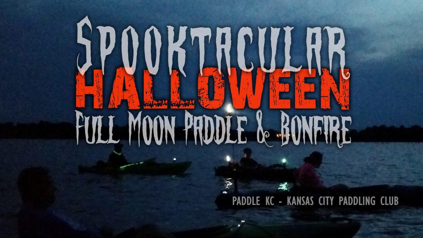 Halloween Kayak Paddle