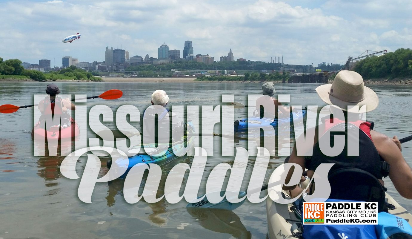 Missouri River Paddles with Paddle KC