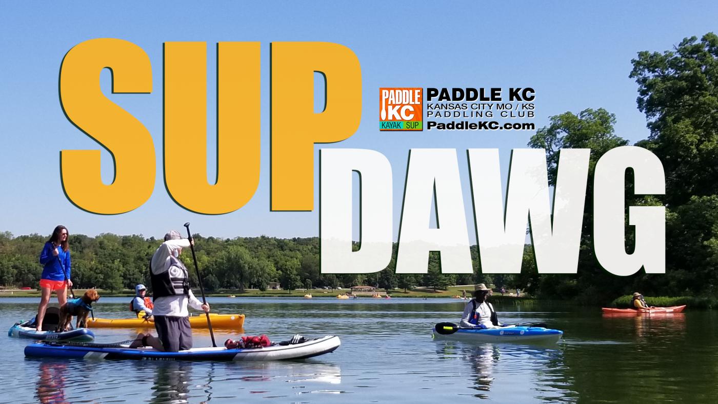 Paddle KC SUP Dawg Dog Paddles