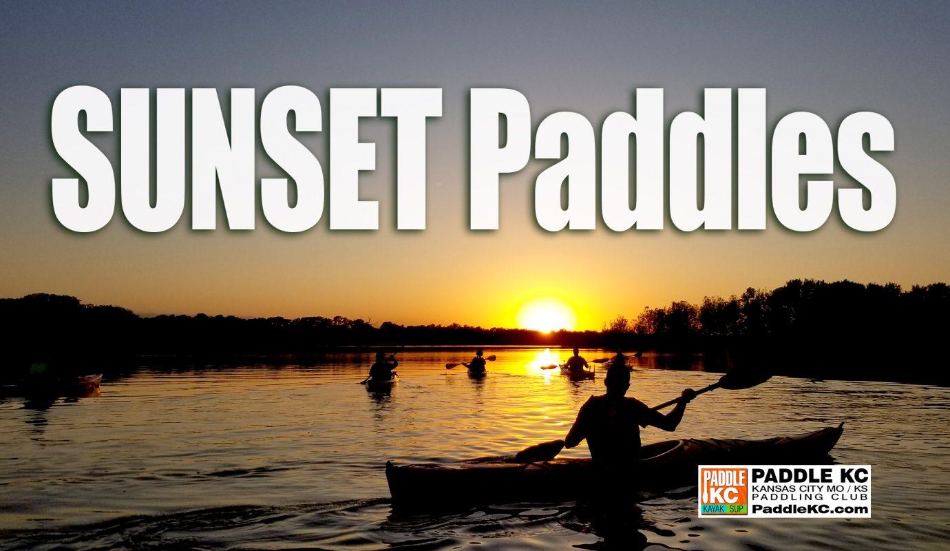 Sunset Paddles near Kansas City